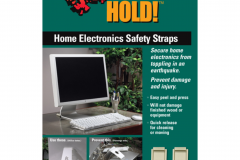 4173 Home Electronic Safety Straps - Black