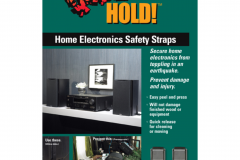 4172 Home Electronic Safety Straps - Grey