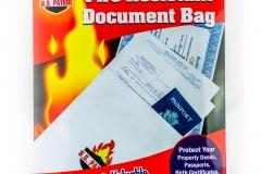 10346 Fire Resistant Document Bag