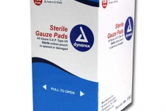 "10442 2""x 2"" Sterile Gauze Pads (Box of 100)"
