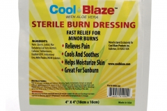 "10473 Cool Blaze Gel Dressing (4"" x 4"")"