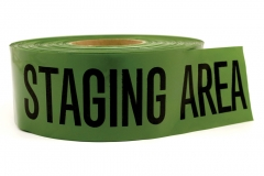 10082 Triage Tape - Staging Area (Green)