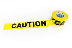 "77510 Barricade ""Caution"" Tape - 300'"
