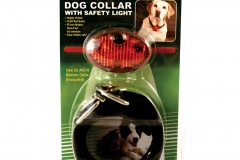 11223 Dog Collar With Safety Light
