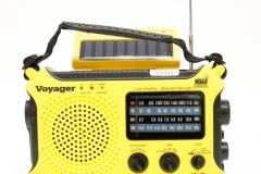 10203 The Voyager - Solar AM/FM/SW/NOAA Weather Band Radio Flashlight
