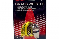 11179 Brass Whistle With Lanyard.