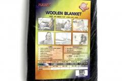 """71001 Wool Blanket 60 """"X 80"""" (50% WOOL)"""