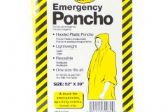 10745 Emergency Poncho (Adult Size)