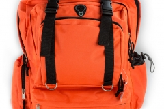 11673 Deluxe Orange Back Pack
