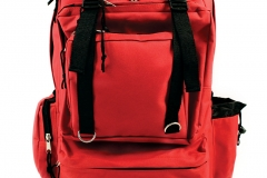 11674 Deluxe Red Back Pack