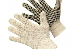 11828 Work Gloves with Grip Dot Palms and Fingers